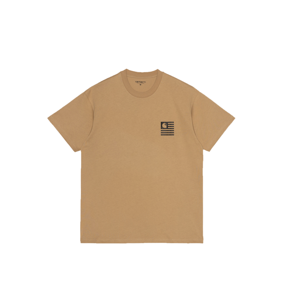 Carhartt Wip S/S Fade State T-Shirt Dusty H Brown I029607-15