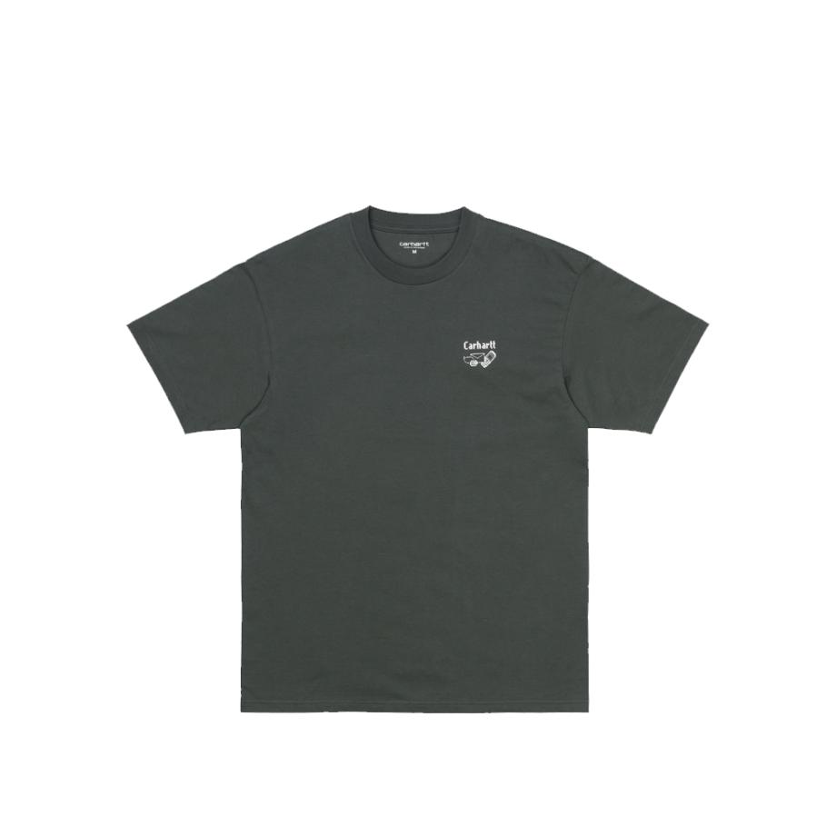 Carhartt Wip S/S Screensaver T-Shirt Slate / White I029629-21