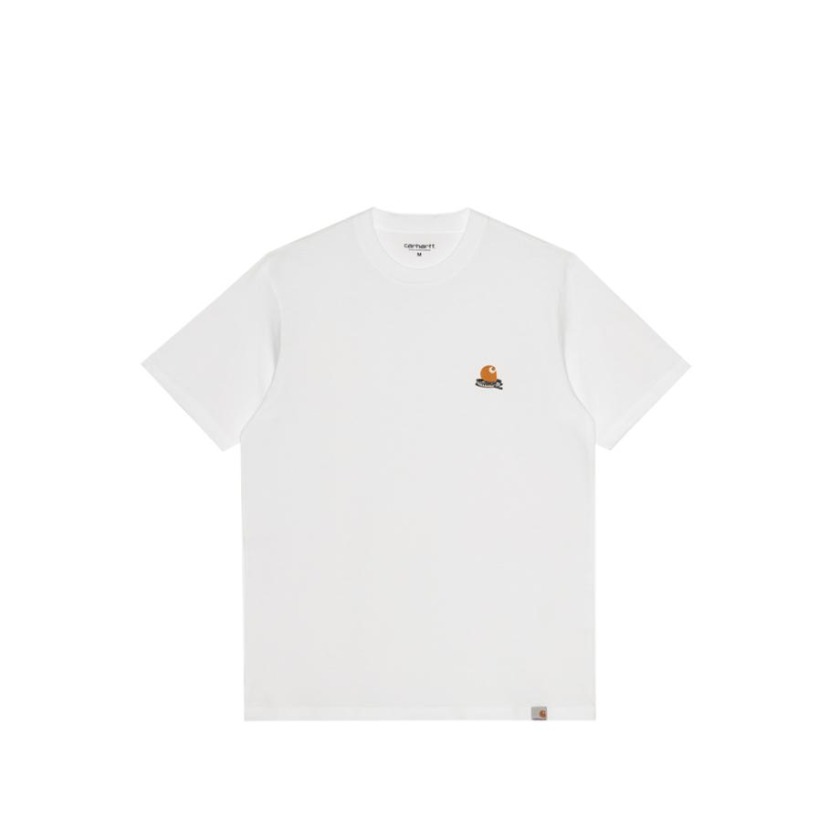 Carhartt Wip S/S Trap C T-Shirt White I029610-3