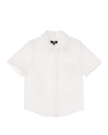 Stussy Milo Sheer Shirt White 211212