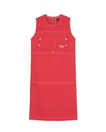 Stussy Stasy Dress Red 211213