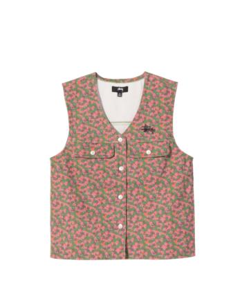 Stussy Sycamore Canvas Vest Multi 215153
