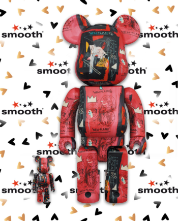 Medicom Toy Andy Warhol x Jean-Michel Basquiat #1 Bearbrick Set 100% 400%