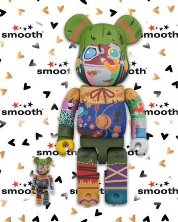 Medicom Toy Poupelle Bearbrick Set 100% 400%