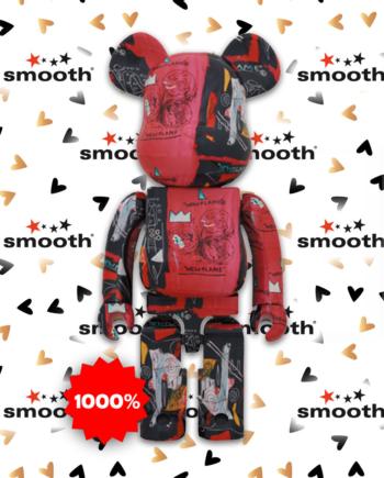Medicom Toy Andy Warhol x Jean-Michel Basquiat #1 Bearbrick 1000%