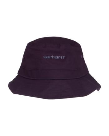 Carhartt Wip Script Bucket Hat Dark Iris / Cold Viola I029937-15