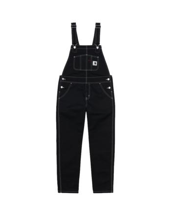 Carhartt Wip W' Bib Overall Black Rinsed I029796-8902