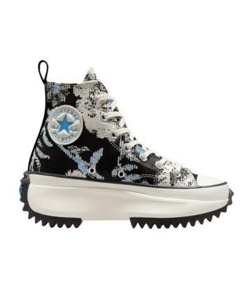 Converse Hybrid Floral Run Star Hike University Blue/Black/Egret 171398C