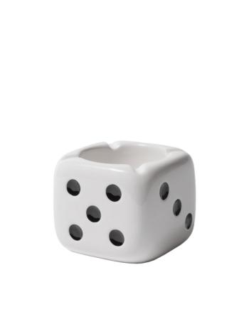 Stussy Ceramic Dice Ashtray White 138743