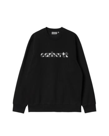 Carhartt Wip Range Script Sweat Black I029530-20