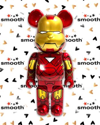 Medicom Toy Iron Man Mark VI Bearbrick x Marvel 400%