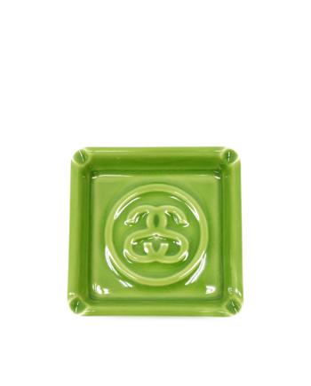 Stussy Ceramic SS Cracked Ashtray Green 138607