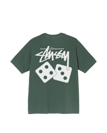Stussy Dice Pigment Dyed Tee Pine1904721